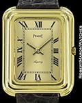 PIAGET ASPREY 18K GOLD GALBE CASE BETA 21 ELECTRONIC RARE 1970