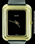 PIAGET 18K GOLD GALBE CASE BETA 21 ELECTRONIC RARE 1970