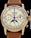 PATEK PHILIPPE 2499 18K ROSE GOLD MOONPHASE CHRONOGRAPH