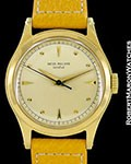 PATEK PHILIPPE VINTAGE CALATRAVA 2508 18K SCREW BACK SWEEP SECONDS 1954