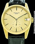 PATEK PHILIPPE VINTAGE CALATRAVA 3558 18K AUTOMATIC SCREW BACK 1980S
