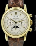 PATEK PHILIPPE 3970 J 2ND SERIES PERPETUAL CALENDAR CHRONOGRAPH BOX PAPERS