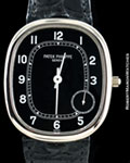 PATEK PHILIPPE JUMBO ELLIPSE 5028G 18K WHITE GOLD AUTOMATIC BOX PAPERS