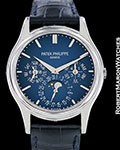 PATEK PHILIPPE PERPETUAL CALENDAR 5140P PLATINUM AUTOMATIC BOX PAPERS