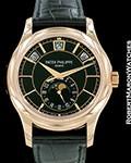 PATEK PHILIPPE 5205R 18K ROSE GOLD ANNUAL CALENDAR
