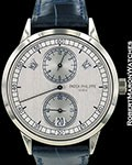 PATEK PHILIPPE 5235 REGULATOR ANNUAL CALENDAR 18K WHITE NEW SEALED
