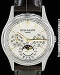 PATEK PHILIPPE 5550P ADVANCED RESEARCH PERPETUAL CALENDAR PLATINUM NEW