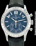 PATEK PHILIPPE 5961P PLATINUM DIAMONDS AUTOMATIC CHRONOGRAPH
