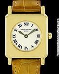 PATEK PHILIPPE VINTAGE LADY'S GONDOLO 18K GOLD REF. 4867 1990