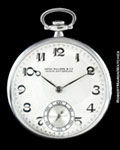 PATEK PHILIPPE POCKET WATCH DIAMONDS PLATINUM
