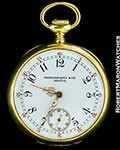 PATEK PHILIPPE POCKET WATCH 18K GOLD