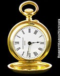 PATEK PHILIPPE SMALLEST POCKET WATCH 20MM 18K HUNTER CASE CA 1890