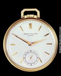 PATEK PHILIPPE 600 POCKET WATCH 18K ROSE