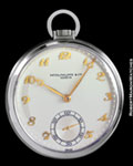 PATEK PHILIPPE POCKET WATCH STEEL
