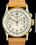 PATEK PHILIPPE TIFFANY REF. 130 VINTAGE CHRONOGRAPH BREGUET DIAL