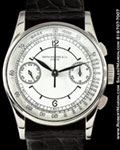 PATEK PHILIPPE 130 CHRONOGRAPH SECTOR DIAL STEEL