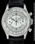 PATEK PHILIPPE 1463 CHRONOGRAPH CHAPTER DIAL STEEL