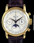 PATEK PHILIPPE 2499 2ND SERIES PERPETUAL CHRONOGRAPH 18K