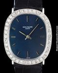PATEK PHILIPPE ELLIPSE DIAMOND BEZEL 18K