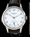 PATEK PHILIPPE 3939 G MINUTE REPEATER TOURBILLON 18K WHITE GOLD