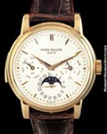 PATEK PHILIPPE 3974 R MINUTE REPEATER PERPETUAL 18K ROSE