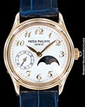 PATEK PHILIPPE 4856 J LADY CALATRAVA MOONPHASE 18K GOLD