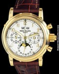 PATEK PHILIPPE 5004 PERPETUAL SPLIT SECONDS CHRONOGRAPH 18K