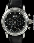 PATEK PHILIPPE 5004 P PERPETUAL CHRONOGRAPH DIAMONDS PLATINUM