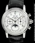 PATEK PHILIPPE 5004 G SPLIT SECOND PERPETUAL CHRONOGRAPH