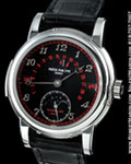PATEK PHILIPPE 5016 P MINUTE REPEATER TOURBILLON BLACK/RED DIAL PLATINUM