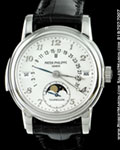 PATEK PHILIPPE 5016 P MINUTE REPEATER TOURBILLON PLATINUM