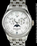 PATEK PHILIPPE 5036/1 G ANNUAL CALENDAR MOONPHASE 18K