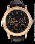 PATEK PHILIPPE 5074 R MINUTE REPEATER CHRONOGRAPH  18K