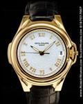 PATEK PHILIPPE SCULPTURE 5091J 18K GOLD AUTOMATIC