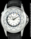 PATEK PHILIPPE WORLD TIME 5130 G TIFFANY DIAL 18K