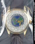 PATEK PHILIPPE 5130 J WORLD TIME CLOISONNE 18K