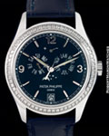 PATEK PHILIPPE 5147 G ANNUAL CALENDAR DIAMONDS 18K