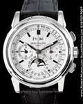 PATEK PHILIPPE 5970 G PERPETUAL CALENDAR CHRONOGRAPH 18K
