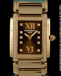 PATEK PHILIPPE LADY TWENTYFOUR 24 18K ROSE GOLD DIAMONDS