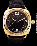 PANERAI RADIOMIR PAM 103 18K ROSE 40MM AUTOMATIC LIMITED EDITION