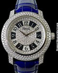 PIAGET LIMELIGHT 18K WHITE GOLD PAVE DIAMOND CASE & DIAL AUTOMATIC