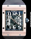 RICHARD MILLE RM16 RM016 AUTOMATIC 18K ROSE GOLD NEW BOX PAPERS BIG DATE