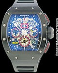 RICHARD MILLE RM11 FELIPE MASSA AUTOMATIC CARBON BOX PAPERS