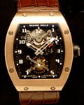 RICHARD MILLE RM01 18K ROSE TOURBILLON