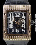 RICHARD MILLE RM016 18K ROSE GOLD EXTRA FLAT
