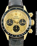 ROLEX VINTAGE DAYTONA 6263 18K FLOATING TROPICAL DIAL 1970