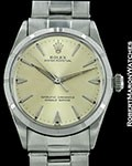 ROLEX VINTAGE OYSTER PERPETUAL 1003 STEEL AUTOMATIC 1968 BOX PAPERS