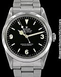 ROLEX VINTAGE EXPLORER 1016 STEEL AUTOMATIC 1967 BOX PAPERS