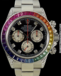 ROLEX 116520 CONVERSION RAINBOW
