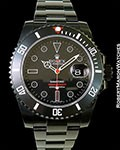 ROLEX 116610 SUBMARINER BAMFORD BLACK STEEL